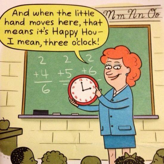 Jokes On You, Education