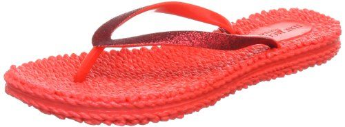 Ilse Jacobsen Damen Glitzer Flip Flop, CHEERFUL01, Damen Zehentrenner, Rot (Himbeere (89)), 40 EU (6.5 Damen UK) - http://on-line-kaufen.de/ilse-jacobsen/40-eu-ilse-jacobsen-cheerful01-damen-4