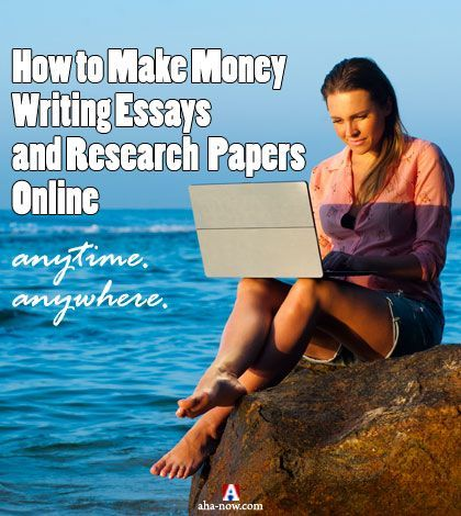 If you want to earn extra money and like to write, then you can earn money writing essays and research papers online. Here's what you need to know about how you can work from home and make money using your writing skills. More at the blog. :) #earnmoney #makemoney #AhaNOW #guestpost #writing #essays #research #researchpapers #blogging