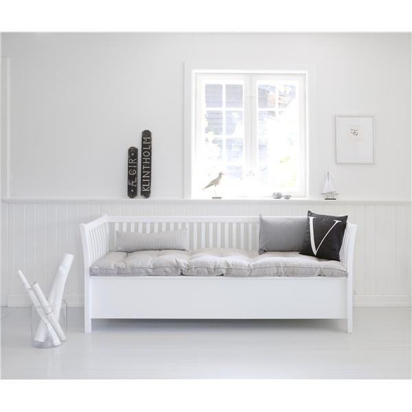 Kökssoffa vit - Oliver Furniture - Möbler, Newport, New England - Countryhouse