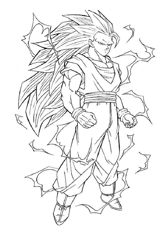 80 Disegni di Dragon Ball Z da Stampare e Colorare | Ciao ...