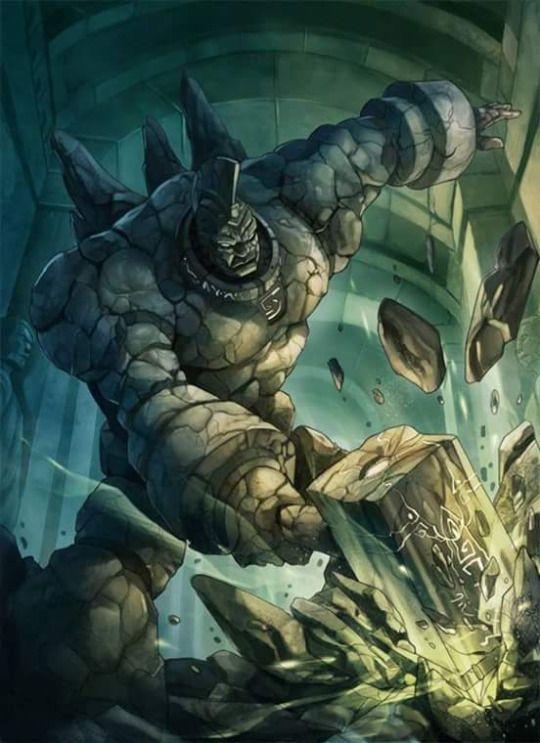 RPG RULES. Stone golem