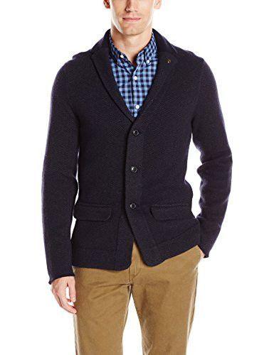Ben Sherman Men's Cardigan Sweater Blazer