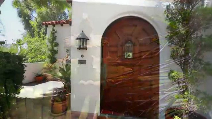 A Spanish Style Home by Sunset Cliffs in San Diego, California