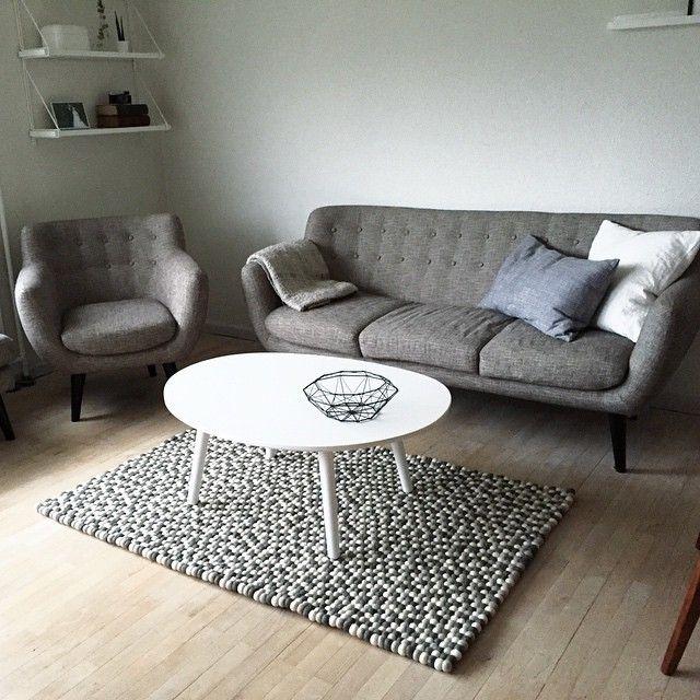 9 besten Kugelteppich Bilder auf Pinterest Teppiche, Wohnzimmer - teppichboden grau wohnzimmer