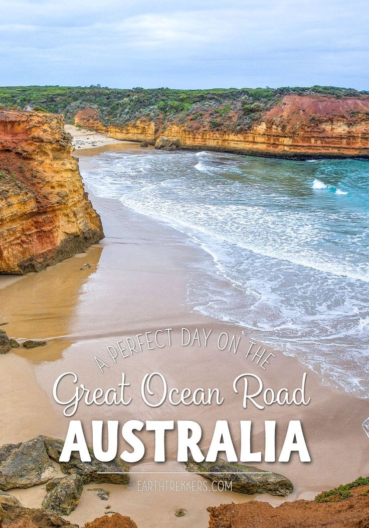 One day road trip on the Great Ocean Road, Australia. Here's how to visit the Great Ocean Road, driving from Port Campbell to Torquay and continuing to Melbourne. The best views, how to get off the beaten track, and what is worth skipping. Great Ocean Road | Australia | Road Trip