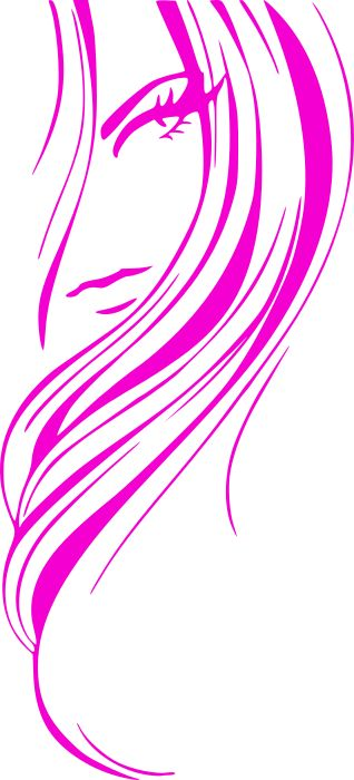 hairstylist clipart silhouette free - Google Search