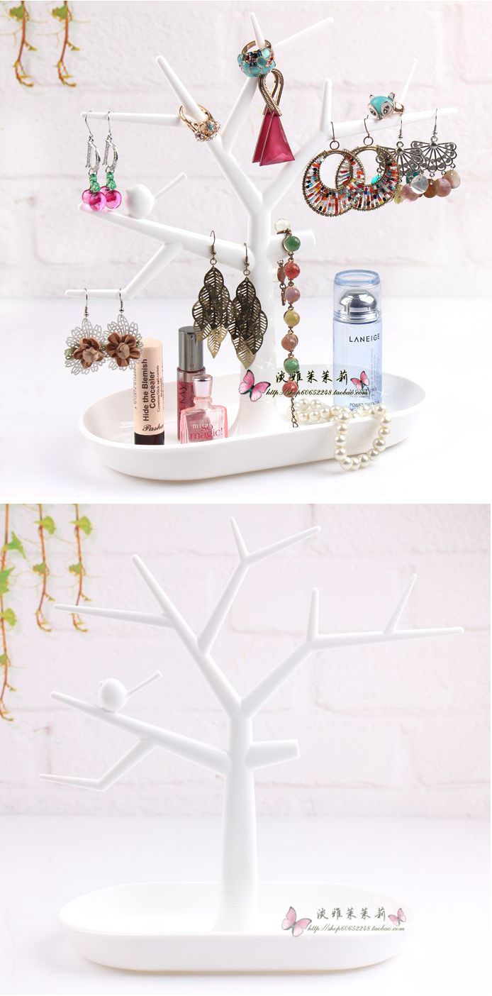 Beautiful rack to store your jewelry and accessories in the form of a tree. This goods will decorate your home  and will be useful. Price $5.81 #Beauty #Exclusive