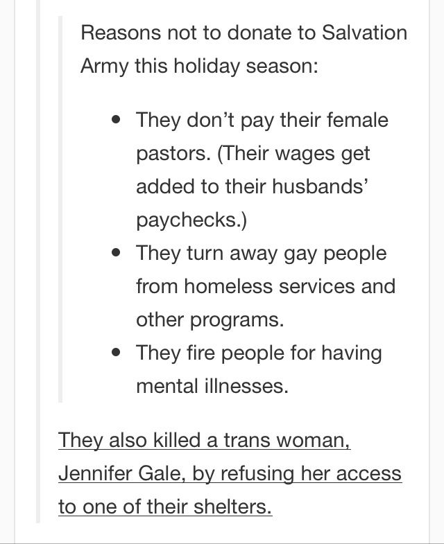 #sexist #homophobes #transphobia They also support conversion therapy and use their money to support anti-gay legislation, even though that's supposed to be ILLEGAL, but then again that's why there's loopholes that they don't have to release the names of where money goes.