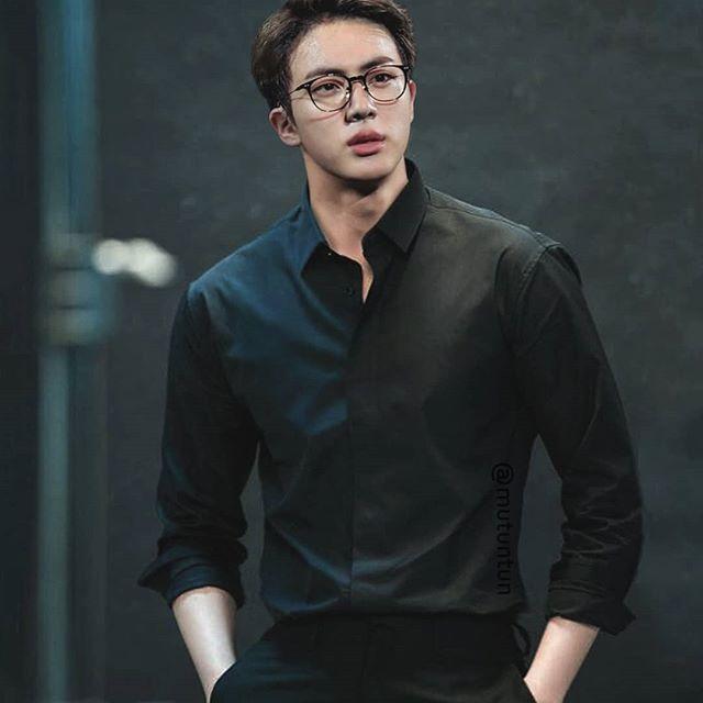 Today S Edition Of Kpop Idols In Glasses Strictly For Jin Biases Btsjin Jin Bts Bts Jin Seokjin Seokjin Bts