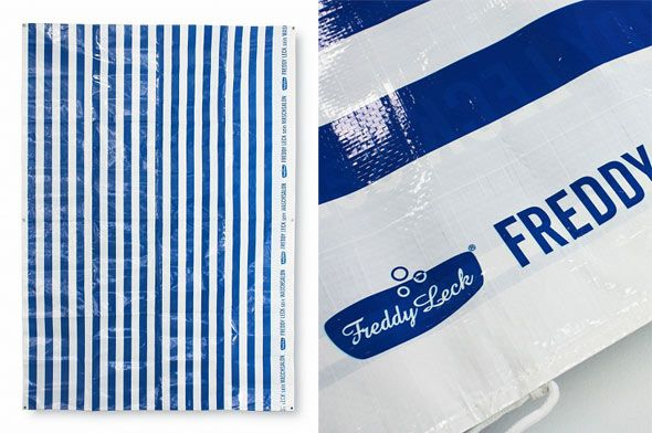 Freddy Leck sein Wasch salon (フレディー) DRYING SHEET 布団干し用シート レジャーシート - ライフスタイルデザインストア[FreePark]