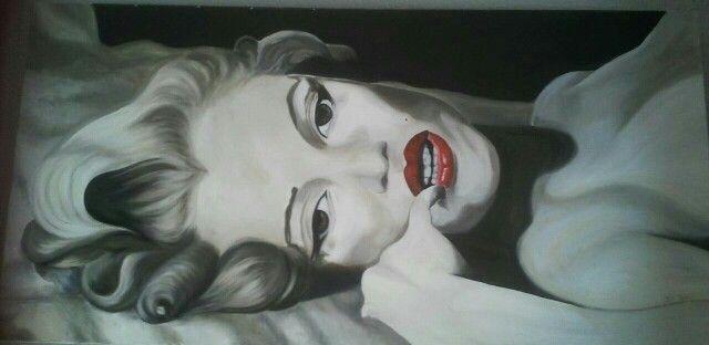 Marilyn b/n