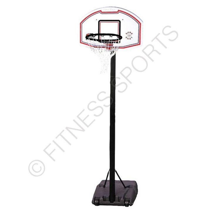Sure Shot 514 portable 8-10ft basketball system.