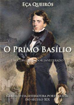 """Capa do livro """"O Primo Basílio"""" de Eça de Queirós.                                                                                                                                                                                 Mais"""