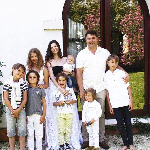 Татьяна Иличева - мама 7-ых детей. Материнство.