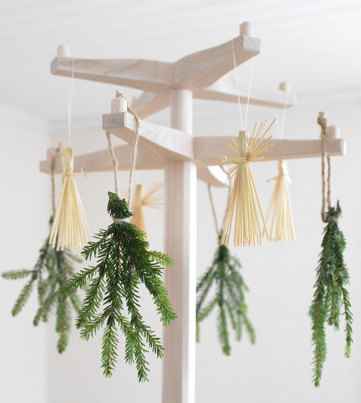 Vår jul! Hängare från Olby design och soffa, tåtölj från Ire möbel.