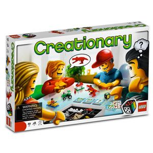 ThinkGeek :: LEGO® Games Creationary