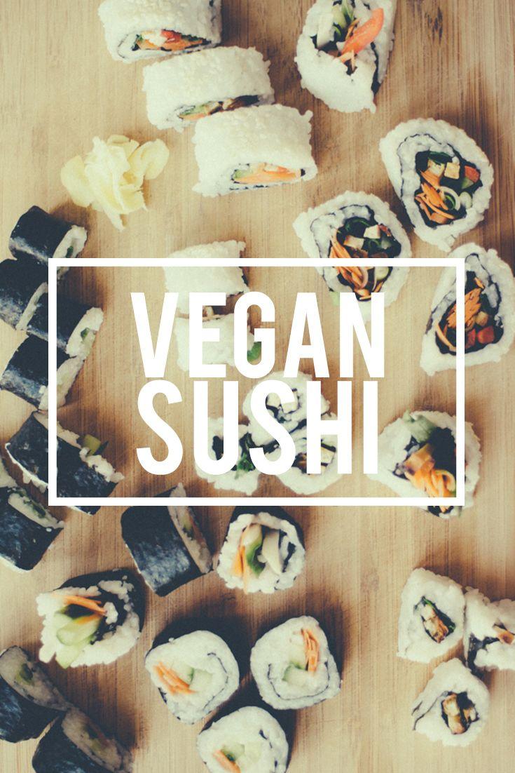 vegan sushi | boardsandknives.com