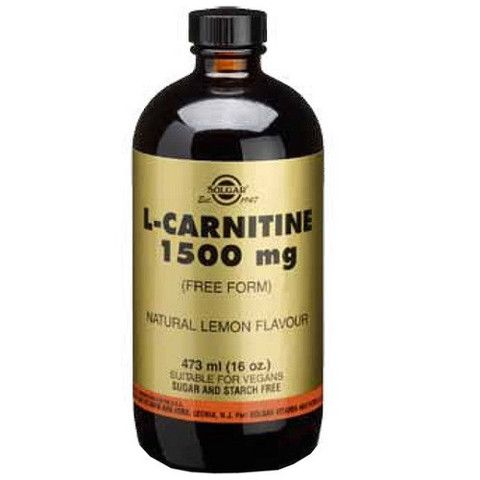 L-carnitina líquida 1500mg Sabor a limón 473ml – Herbolario Oriente