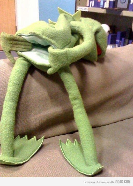 Kermit is a freak!
