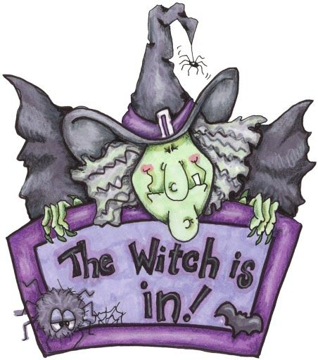 THE WITCH IS IN •