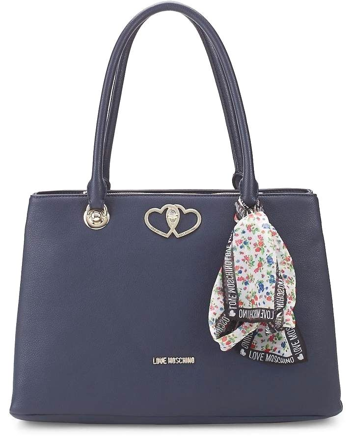 88fd532250 Love Moschino Women's Floral Scarf Faux Leather Tote leather #handbags and  #purses