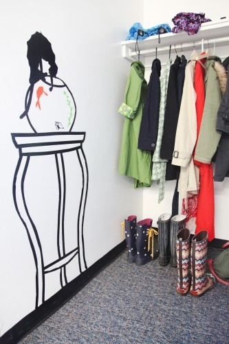 Tape Art...maybe in my classroom.