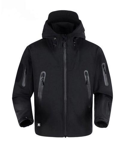 Men Hiking Soft Shell V 5.0 Tactical Jacket 100% Waterproof Coat – 520outdoor