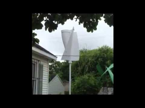 Affordable Wind Turbines 2 kw spins in low wind speeds