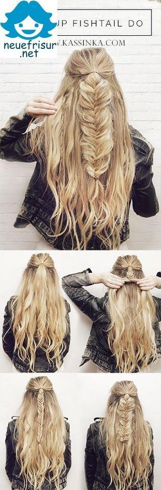 Braided Ponytail Hair Tutorial – Lara – #Braided #Hair #Lara #Ponytail #Tutorial