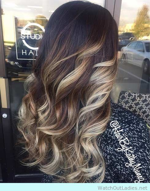 Best 25 dark hair blonde highlights ideas on pinterest dark if you think the balayage trend that drove every woman crazy over 2015 won pmusecretfo Gallery