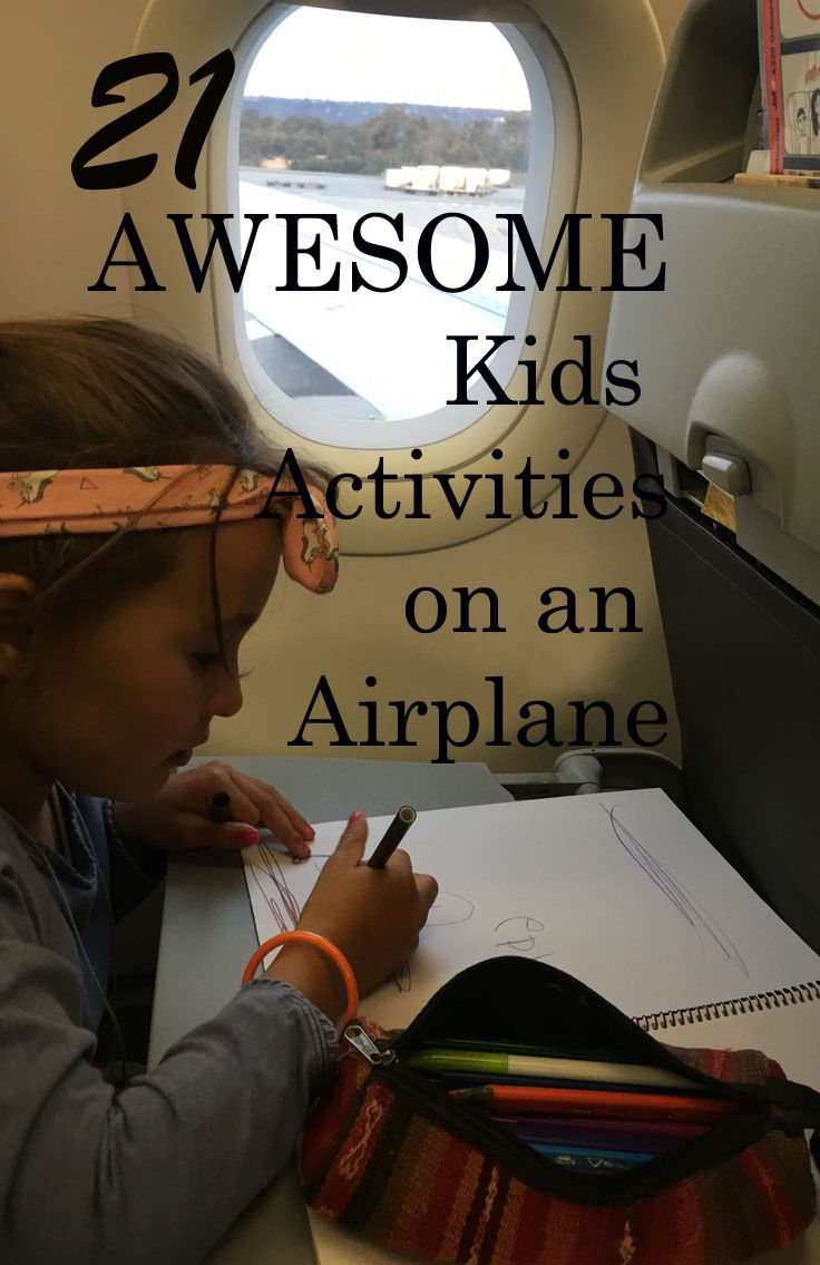 looking for airplane games inspiration? here are lots of simple, easy to implement activities and games for kids on a plane!