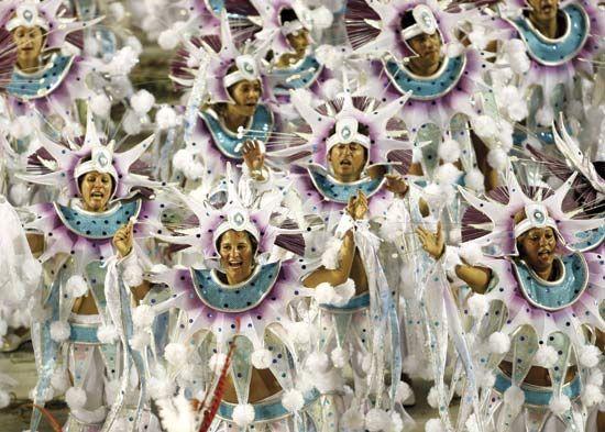 Brazil: Carnival in Rio de Janeiro