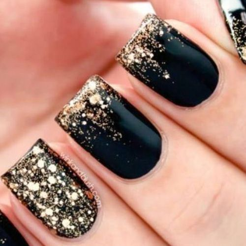 25+ best ideas about New year's nails on Pinterest | New years ...