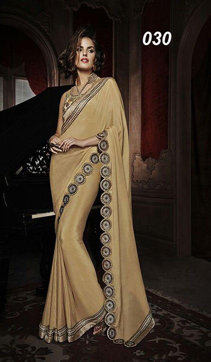 Pallu - Georgette With Heavy Embroidered CutWork Lace Skirt - Georgette With Embroidered Lace Work With Hand Work Blouse - Heavy Embroidered WOrk With Heavy Mirror Handwork