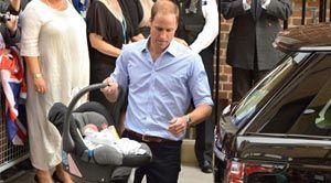 El príncipe William llevará a su bebé a conocer la tumba de la princesa Diana |Central