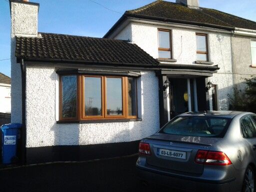 OUR IRISH HOME and our car, well ANNS CAR REALLY!!