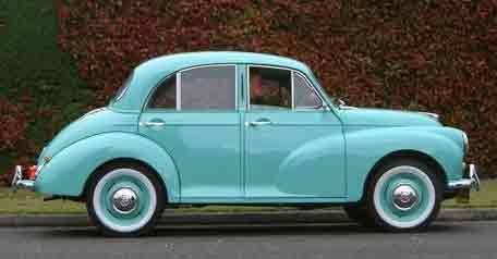 Morris Minor, my grandparents had this car when I was young and it was the coolest dam car.  I cried when they sold it