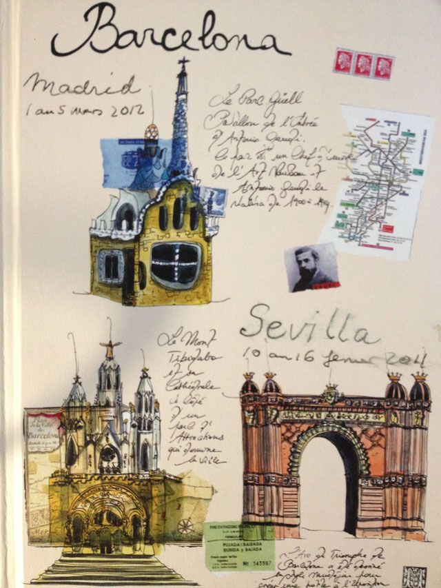Our Spanish travel diary waiting for Barcelona!
