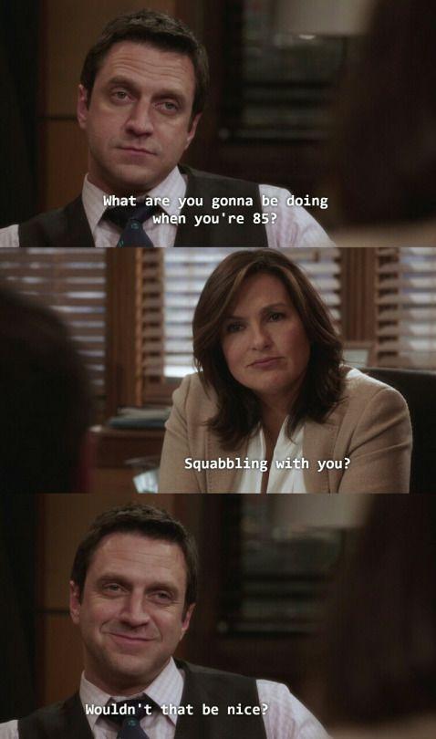 Hands down my favorite Benson and Barba scene! Adorable!