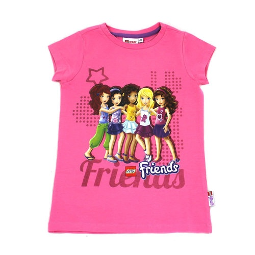 Lego Friends T Shirt Green Pink White Or Lilac Fr 4 To