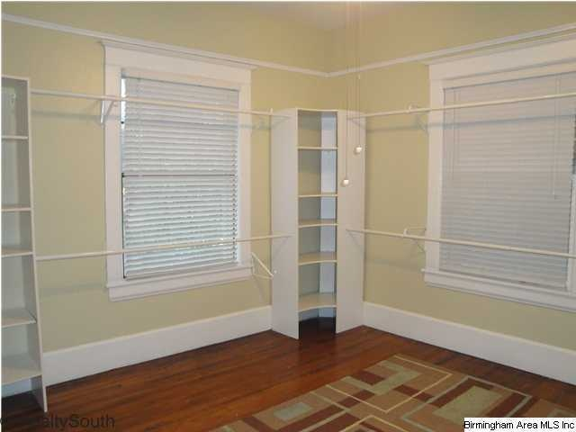 Great way to turn a room into a closet