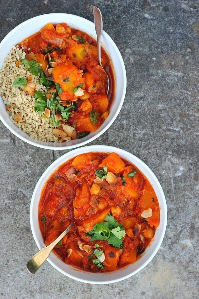 Moroccan Spiced Pumpkin + Chickpea Stew - happy hearted kitchen