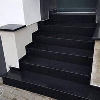 Weitere Infos zu dieser Granit Treppe in Köln erfahren Sie hier:  http://www.maasgmbh.com/aktuelle-koeln-nero-assoluto-granit-treppenstufen-nero-assoluto-koeln
