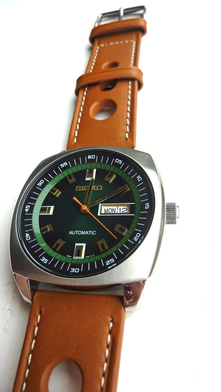 My Seiko Recraft On A Tan Rally Strap Time Is At Hand
