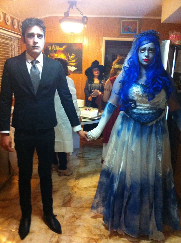 diy couples halloween costume corpse bride - The Corpse Bride Halloween Costume