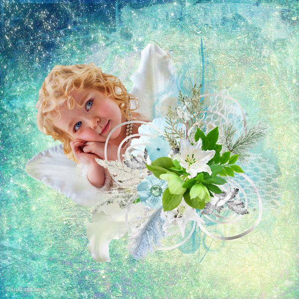 Magic Snow Queen in Winterland by Desclics  Available @ http://www.paradisescrap.com/fr/376-desclics Photo with kind permission Janet Kamskay Photographer