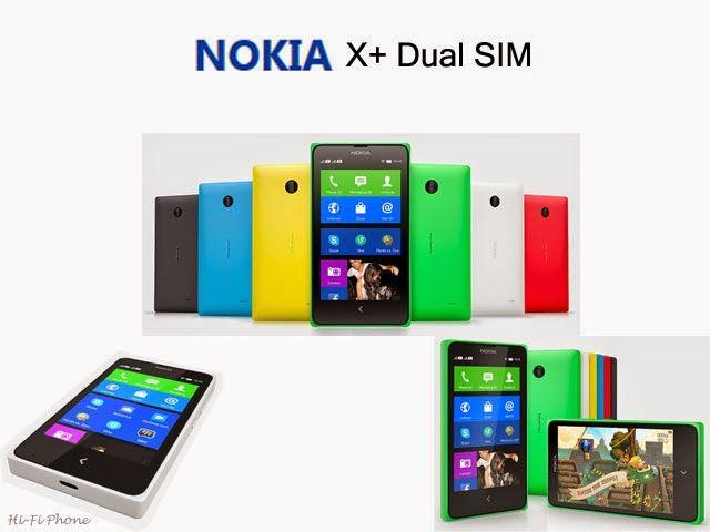 Nokia X+ Dula SIM  hifiphone.blogspot.com