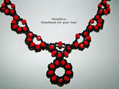 """ANNAHERA"" - handmade for your soul: Colier Elvira"