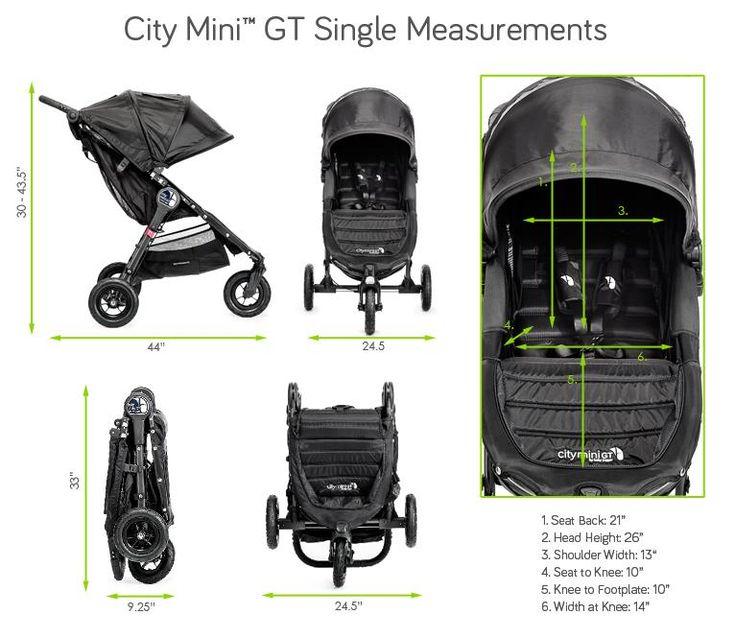 9 Best Stroller Dimension Images On Pinterest Pram Sets